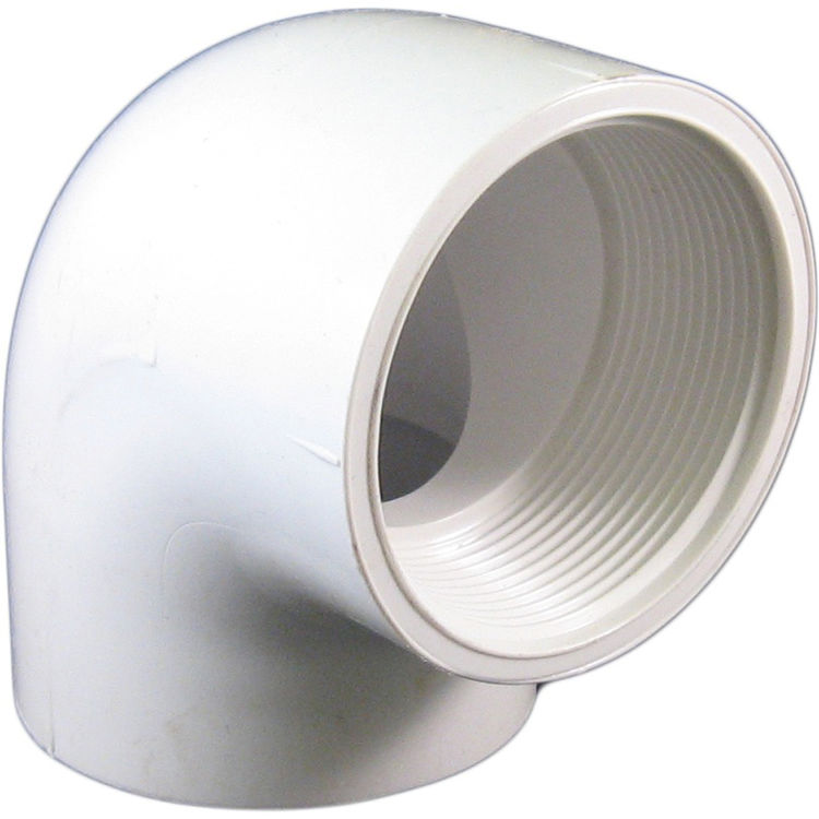 Commodity  PVCL2 Schedule 40 PVC 90 Degree Elbow, 2 Inch