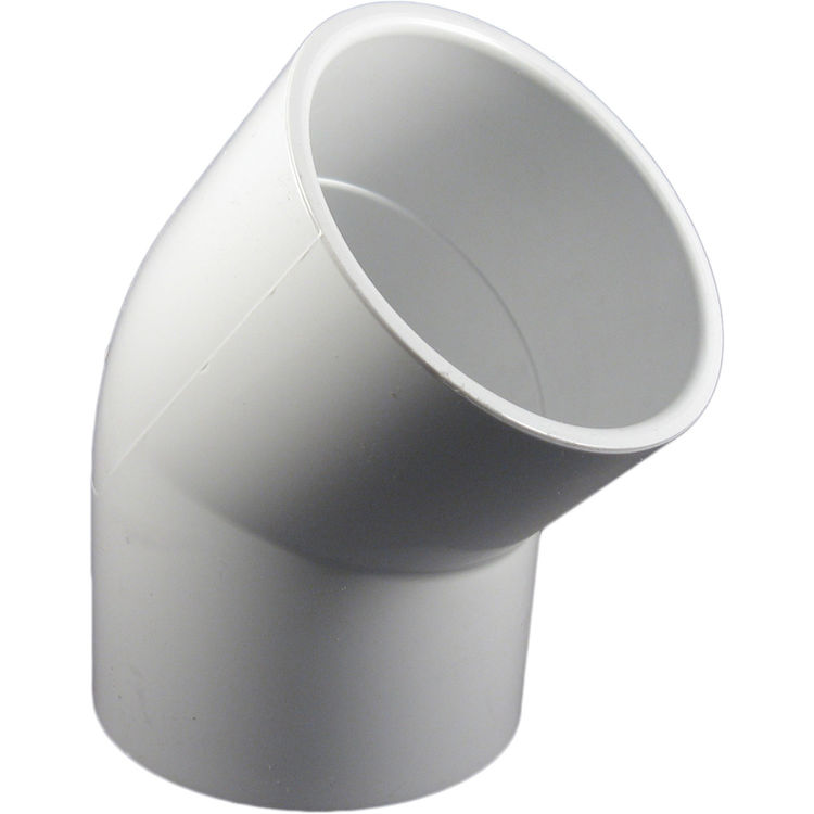 Commodity  PVCL453 Schedule 40 PVC 45 Degree Elbow, 3 Inch
