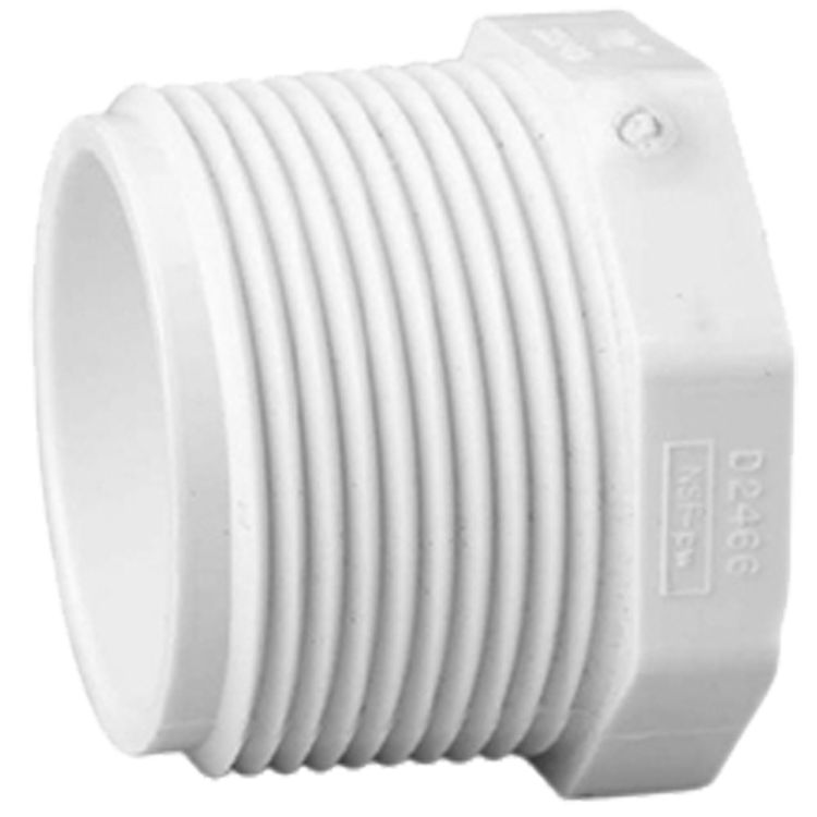 Commodity  Schedule 40 PVC 1-1/2 Inch Threaded Plug