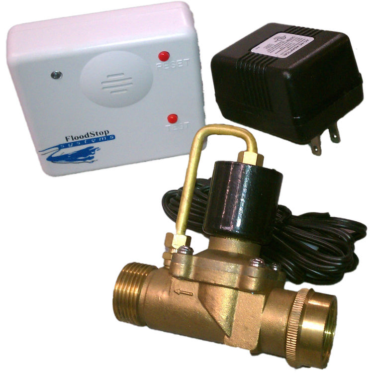 FLOOD STOP SYSTEM II WATER HEATER FLOOD STOP KIT INCLUDES 3/4