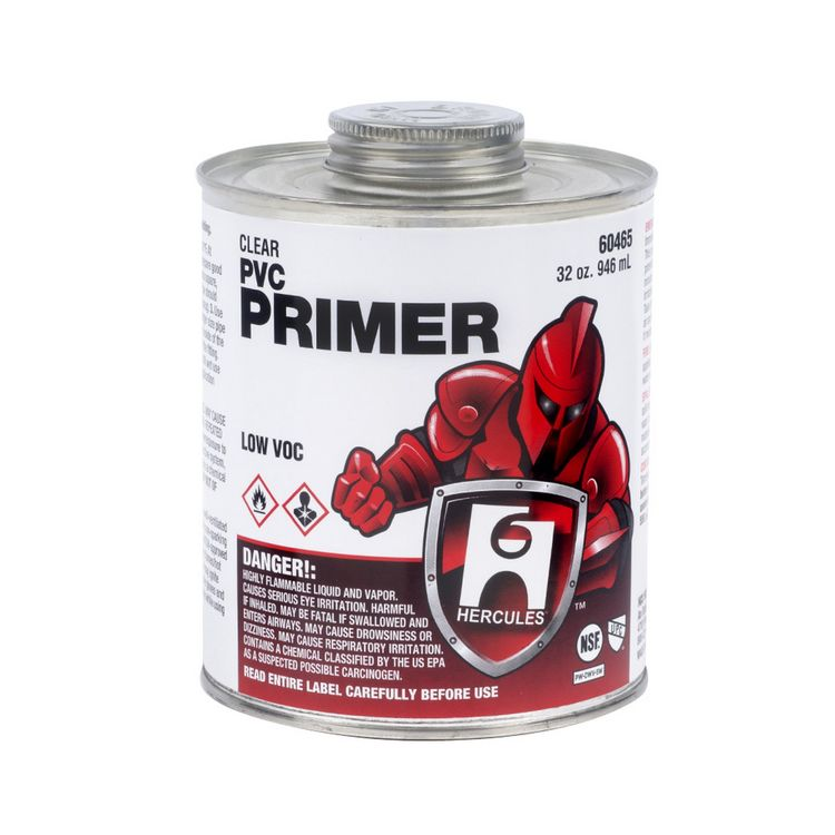 Commodity   1/2 Pint Clear Pvc Primer