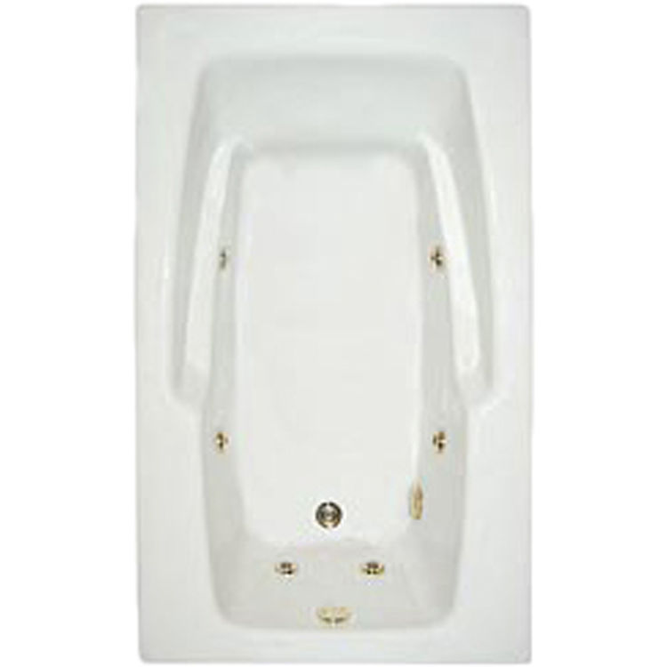 Mansfield 3660-6018 Pro-Fit White Whirlpool 60\