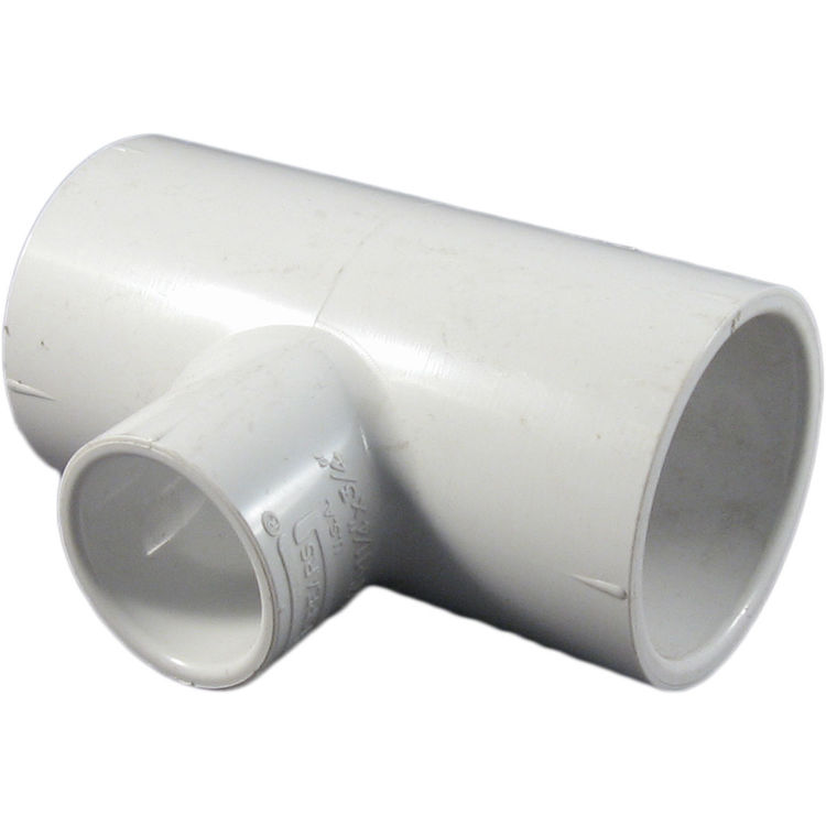 Commodity  Schedule 40 PVC 1-1/4x1-1/4x3/4 Inch Tee