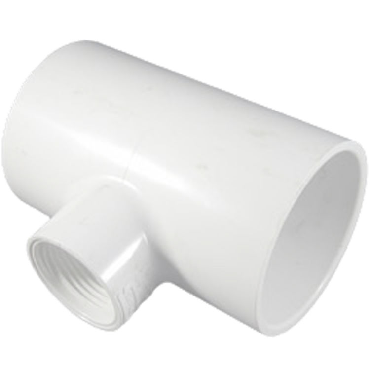 Commodity  Schedule 40 PVC 2x2x1 Inch Tee