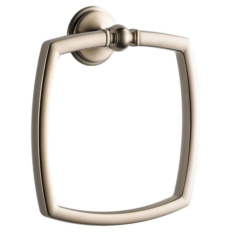 Brizo 694685-BN Brizo 694685-BN Brushed Nickel Charlotte Towel Ring