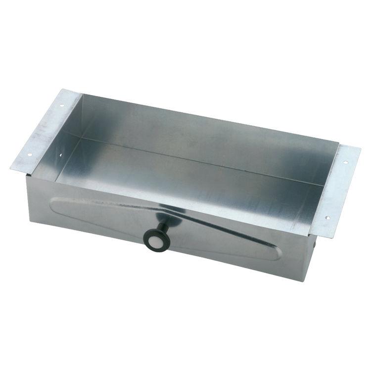 Delta 46090 Delta Commercial 46090 Steel Recessed Vanity Tissue Cabinet