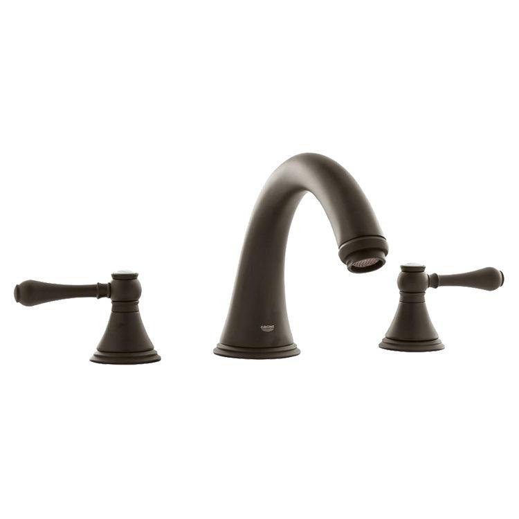 Grohe 25054zb0 Geneva Roman Bathtub Faucet Antique Bronze