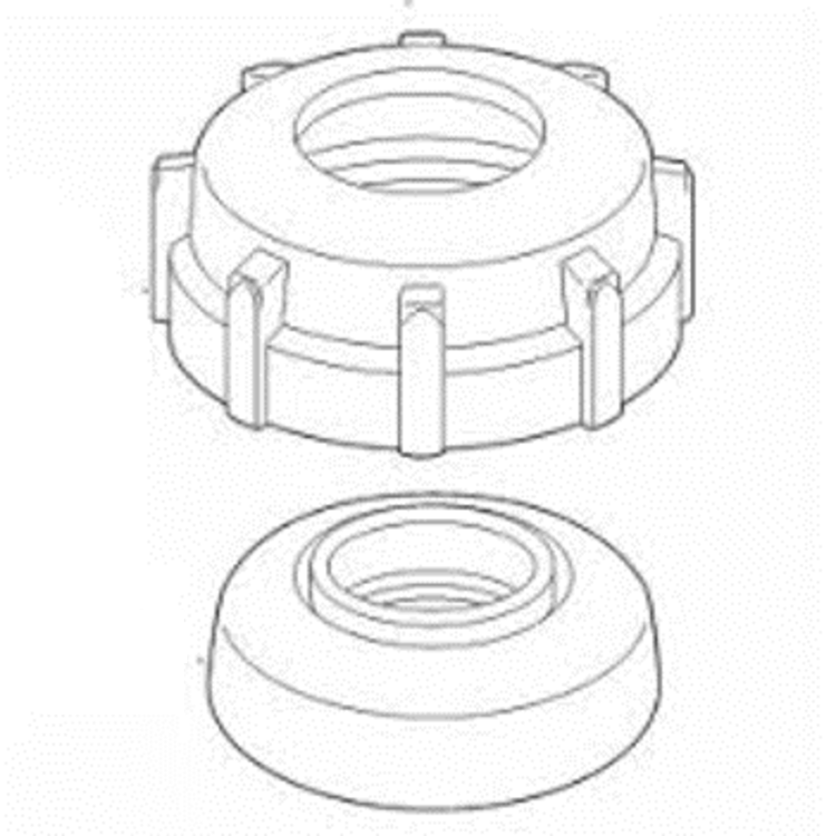View 3 of Toro 102-1211 Toro 102-1211 570 Reclaimed Molded Cap And Seal