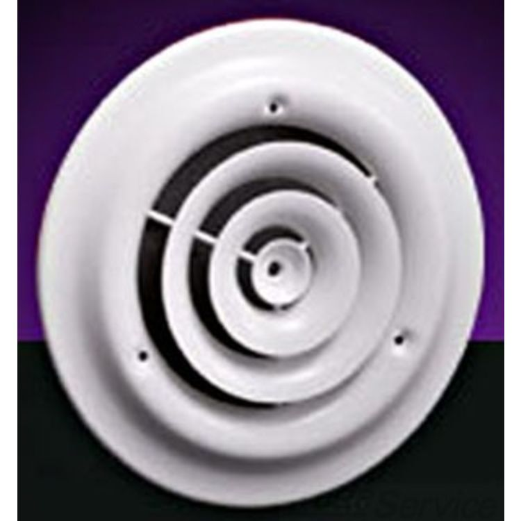 Hart & Cooley  Hart Cooley 6-inch Round Ceiling Diffuser