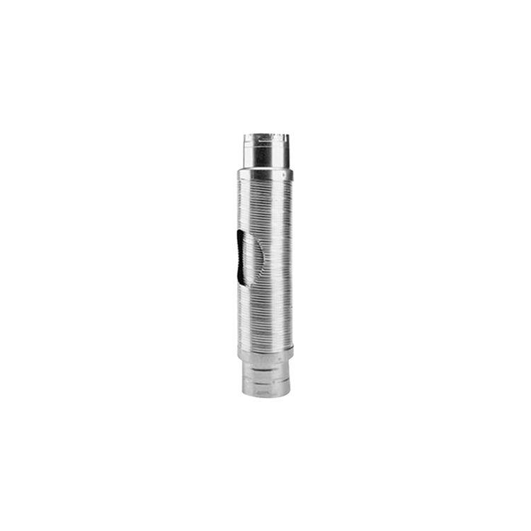 Metal-Fab MDWF0505 Metal-Fab MDWF0505 B-Flex Double-Wall Flexible Type B Vent Pipe Length - 5 Inch Diameter x 5 Foot