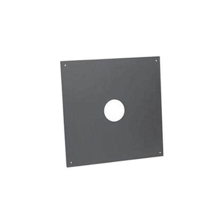 Metal-Fab 4PCP Metal Fab 4PCP 4 Biomass Chimney L Vent Galvanized Ceiling Plate