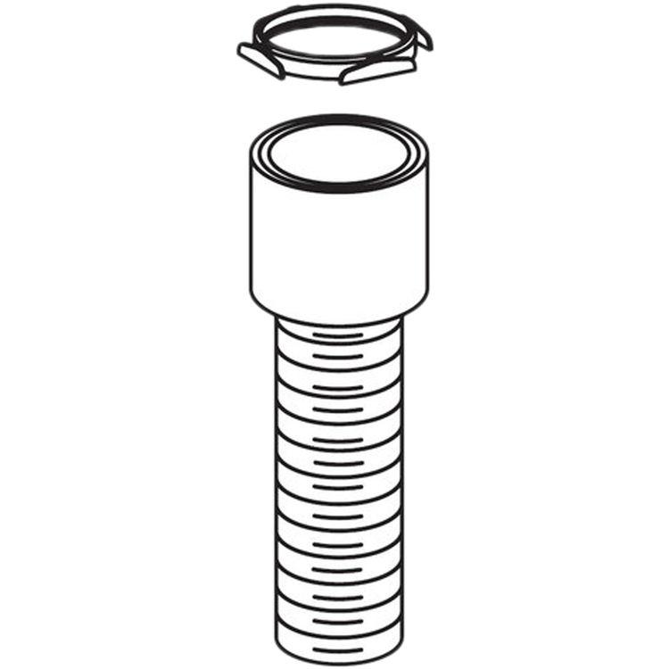 Moen 12573 Moen 12573 Soap Dispenser Bushing Ring, Polished Chrome