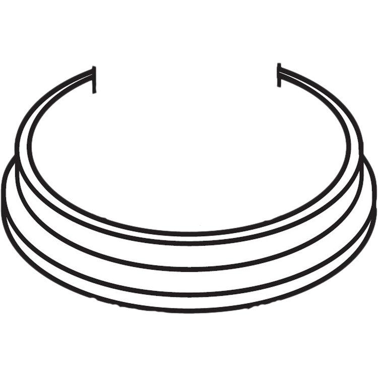 Moen 1193NL Moen 1193NL Waterhill Trim Ring - Nickel
