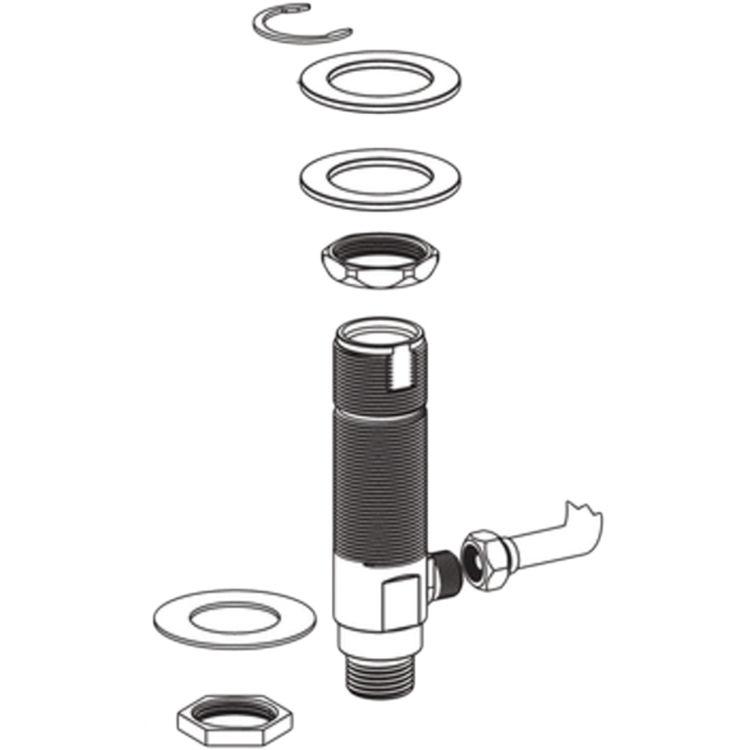 Moen 101017 Moen Commercial 101017 Metering Faucet Hardware Pack