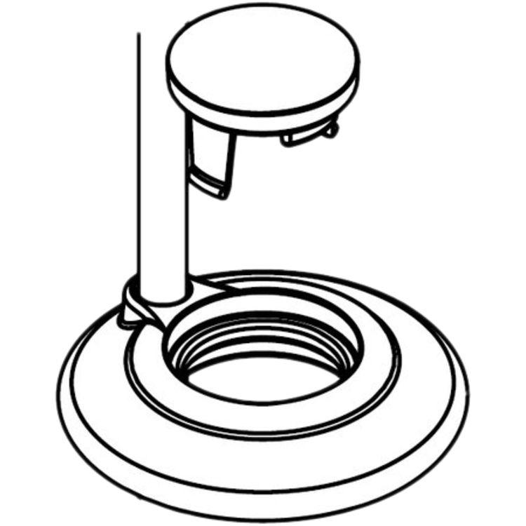 Moen 101420 Moen 101420 Part Spout Cap & Accent, Widespread Lavatory