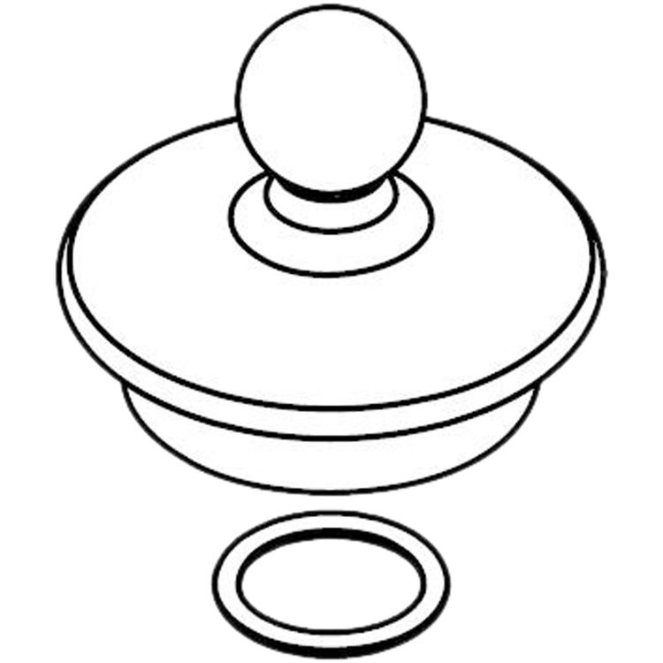 Moen 116630 Moen 116630 Part Spout Cap, Roman Tub