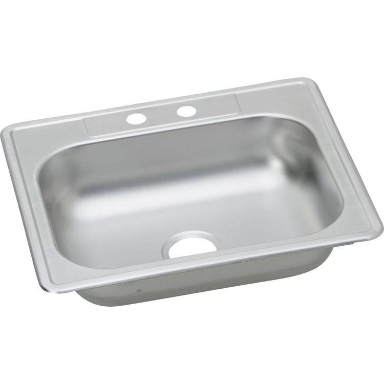 Elkay K125212 Elkay K125212 Kingsford Stainless Steel Single Bowl Top mount Sink