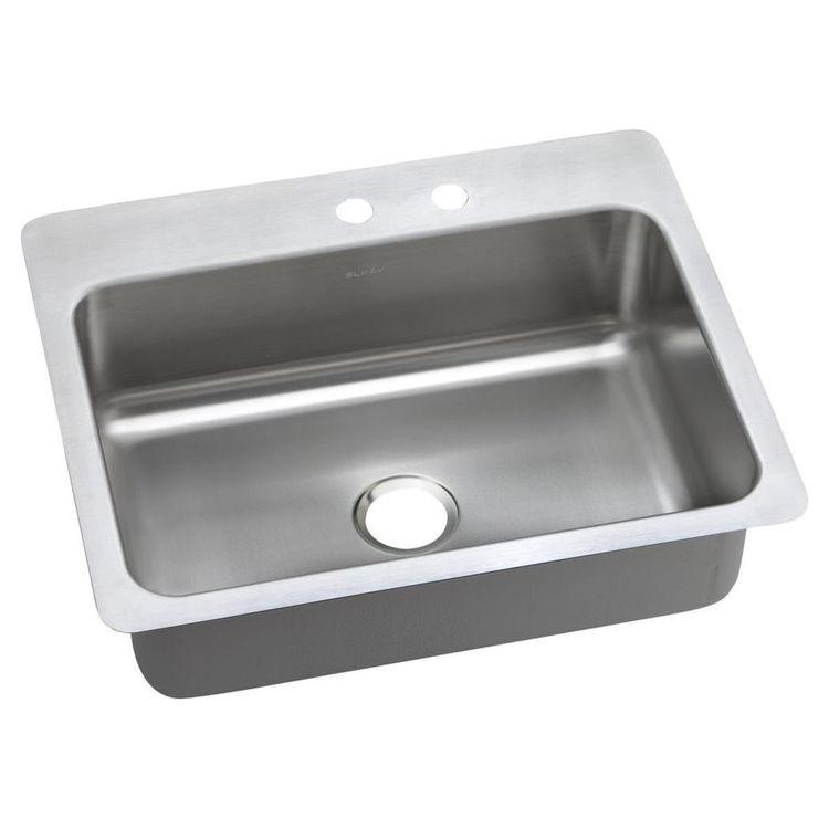 Elkay DSESR12722MR2 Elkay DSESR12722MR2 Dayton Stainless Steel Single Bowl Sink