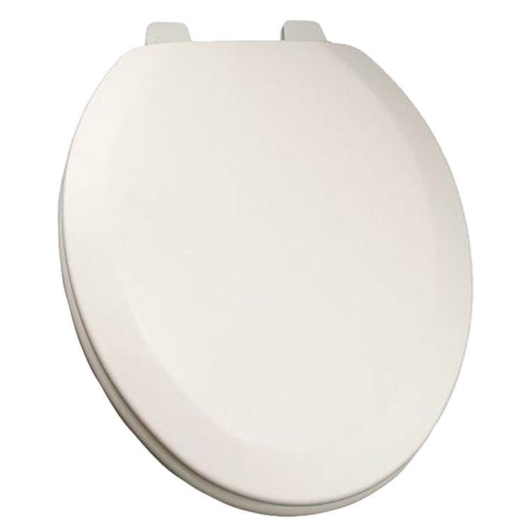Jones Stephens C014wd00 White Elongated Wood Toilet Seat