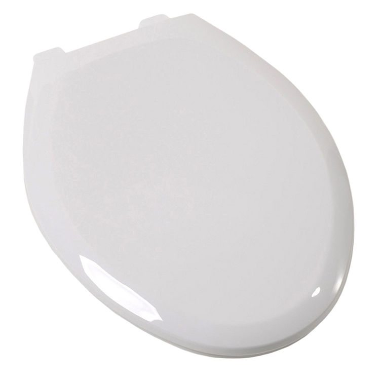 Jones Stephens C6B3E4S00 Jones Stephens C6B3E4S00 White - Ez Close Elongated Plastic Toilet Seat