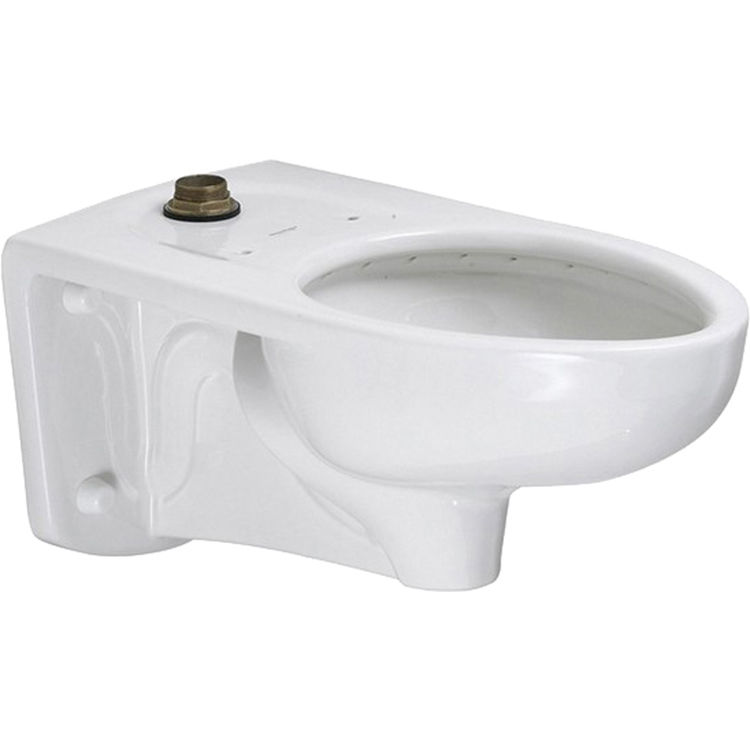 American Standard 2294.011EC.020 American Standard 2294.011EC.020 White Afwall FloWise Elongated Toilet Bowl