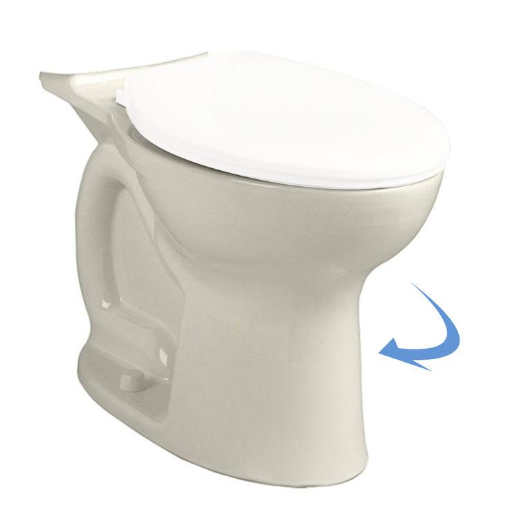 American Standard 3517B.101.222 American Standard 3517.B101.222 Linen Cadet Pro Round Toilet Bowl
