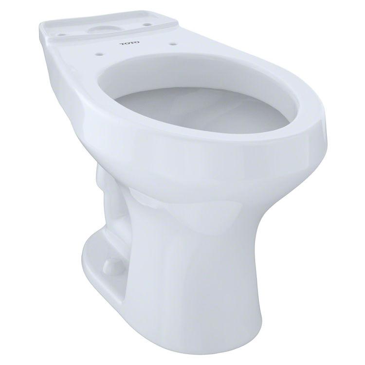 Toto C406F#01 Toto C406F#01 Rowan Elongated Toilet Bowl Only Cotton White
