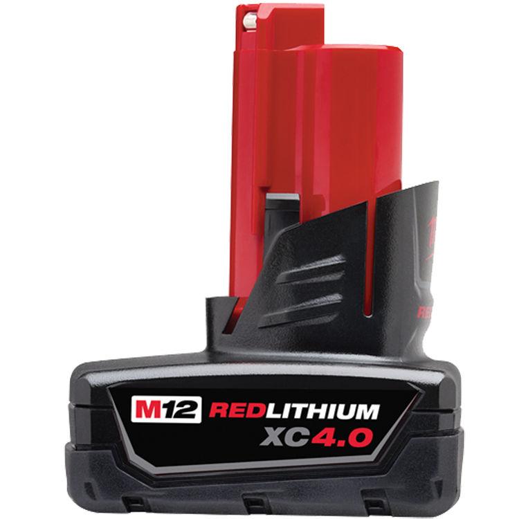 Milwaukee 48-11-2440 Red Lithium 48-11-2440 Extended Capacity Battery Pack, 12 V