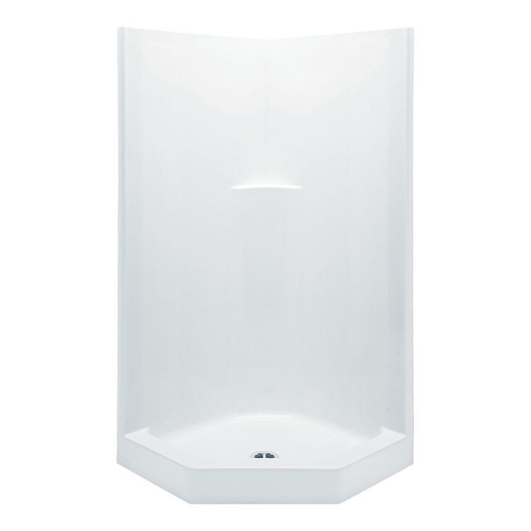 Aquatic 1382NAT-WH Aquatic Bath 1382NAT-WH White 38