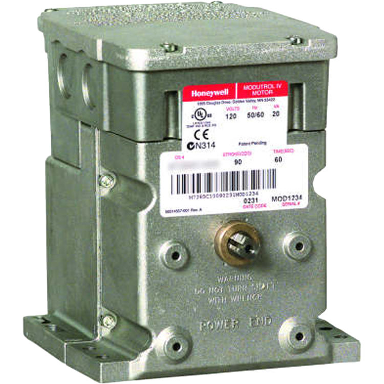 Honeywell M6194D1017 Honeywell M6194D1017/U 301 lb-in, Floating Control, 24V Auxiliary Switch