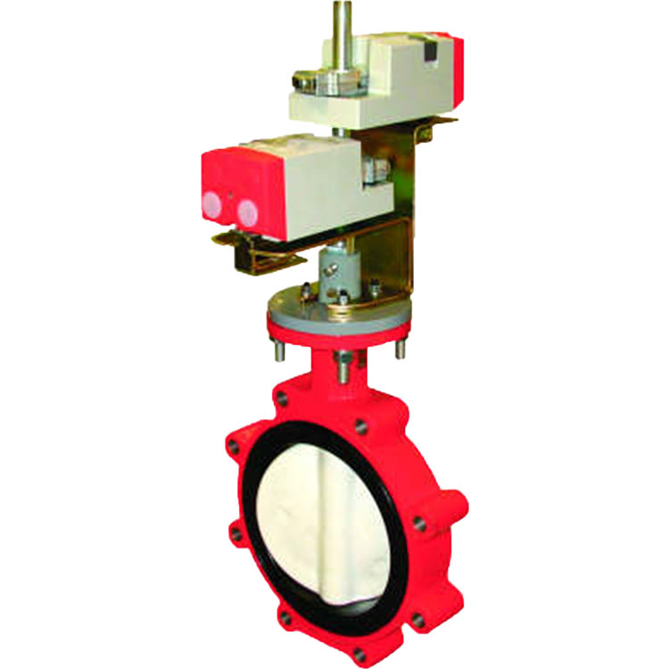 Honeywell VFF1HW1YES Honeywell VFFILV1YXS 2-Way  3  Inch Resilient- Seat Flanged Butterfly Valve