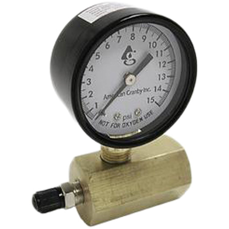 American Granby  60# Air Test Gauge with 3/4