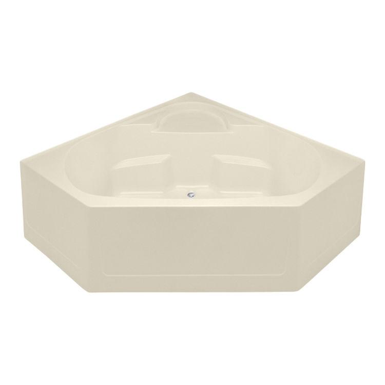 Aquatic Bath 2600cbd Bo Bone Center Rear Drain 60 X28 X22