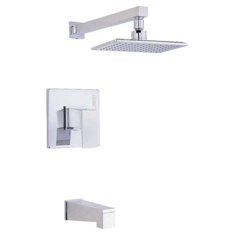 Danze D500062T Danze D500062T Mid-Town One-Handle Tub & Shower Faucet Trim Kit - Chrome