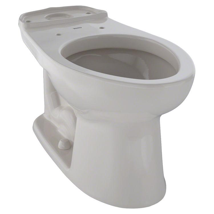 Toto C744EL#12 Toto Eco Drake ADA Height Elongated Toilet Bowl Only, Sedona Beige - C744EL#12
