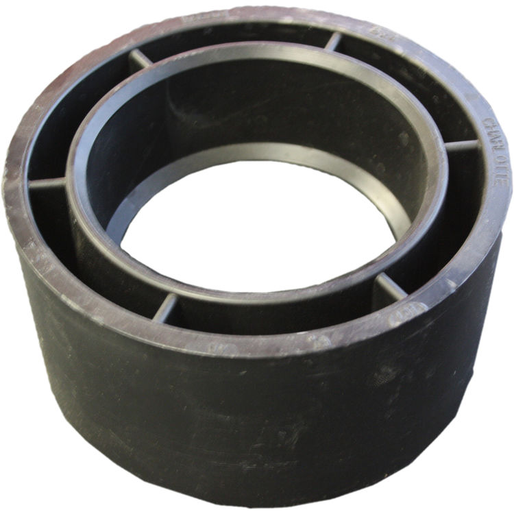 Commodity  6 x 4 Inch ABS Flush Bushing, ABS Construction