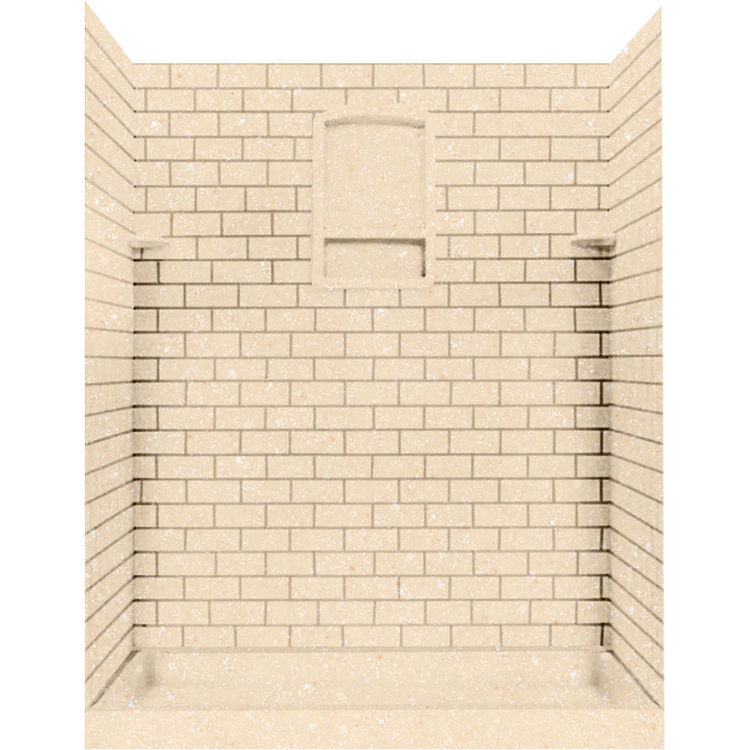 Swanstone Stmk72 3662 055 Subway Tile Shower Wall Kit