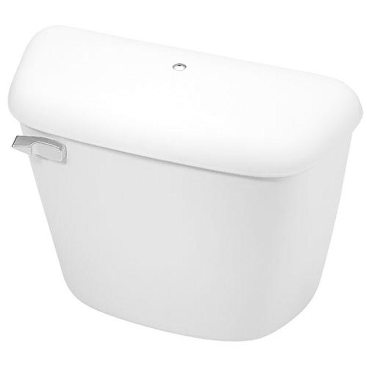 Stupendous Mansfield Alto White Toilet Tank With Cover Lock Tank Only Model 165Wht Machost Co Dining Chair Design Ideas Machostcouk