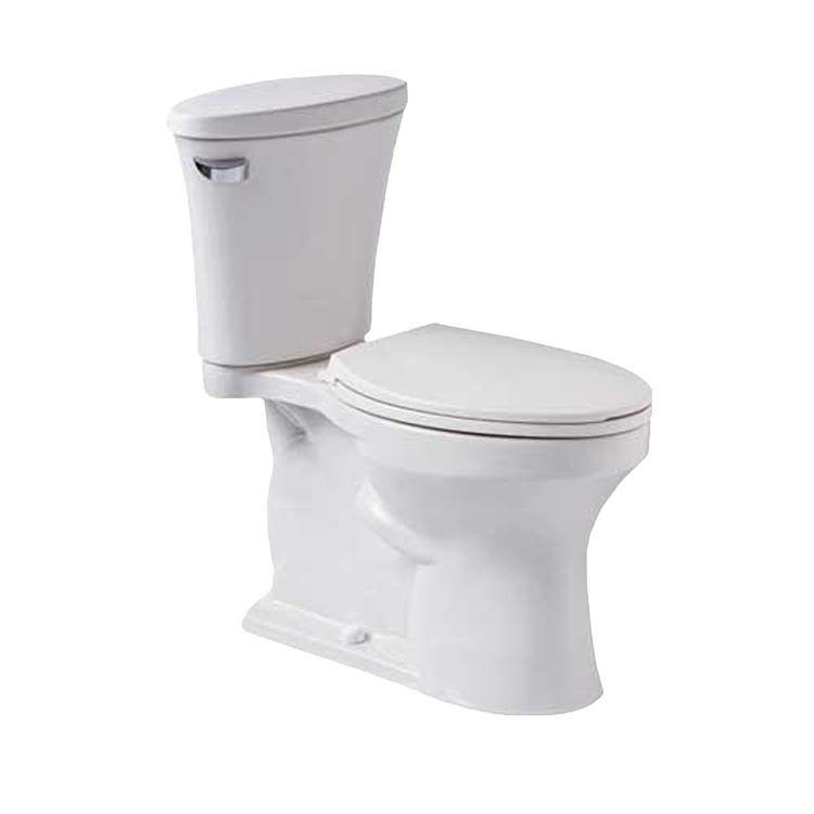 Mansfield 4184CTK-WHT Mansfield 4184CTK-WHT White Essence 1.28 GPF ADA Elongated Bowl Toilet