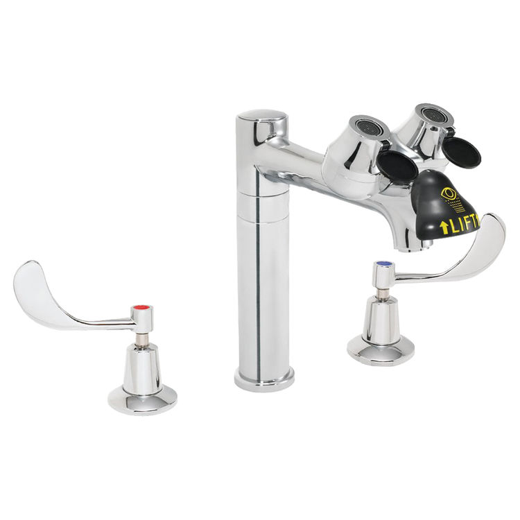 Speakman SEF-1801-8 Speakman SEF-1801-8 Eyesaver Chrome Eye Wash/Faucet Combination