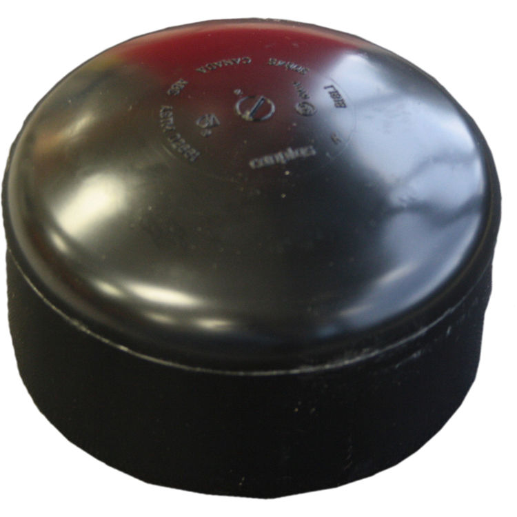 Commodity  4 Inch ABS Slip Cap, ABS Construction