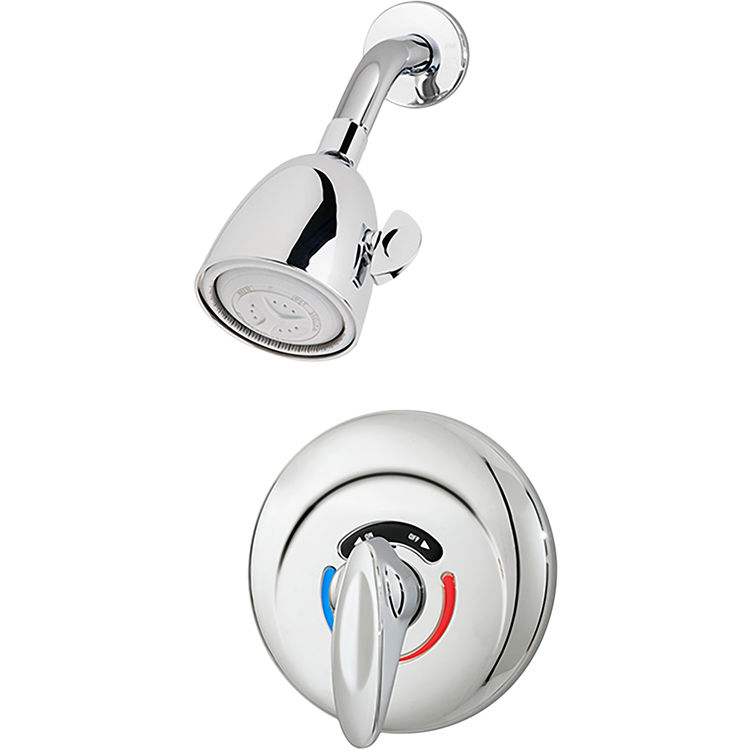 Symmons 1-100-X Symmons 1-100-X *SAFETYMIX* Commercial Shower W/Valve And Stops