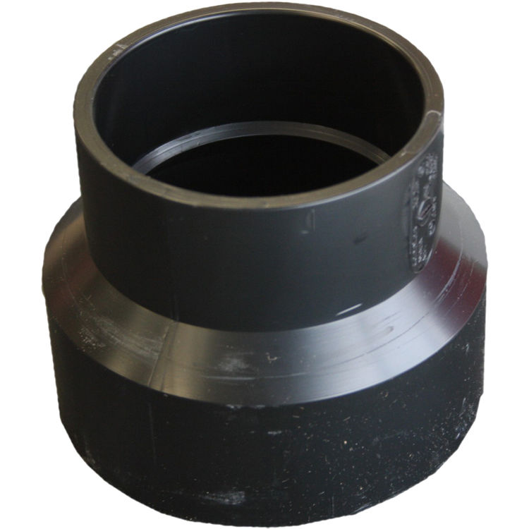Commodity  1-1/2 x 2 Inch ABS Increaser/Reducer, ABS Construction