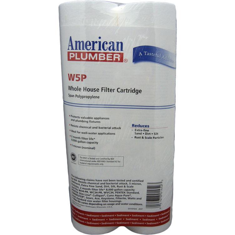 American Plumber W5P American Plumber W5P 155014-52 5 Micron Filter