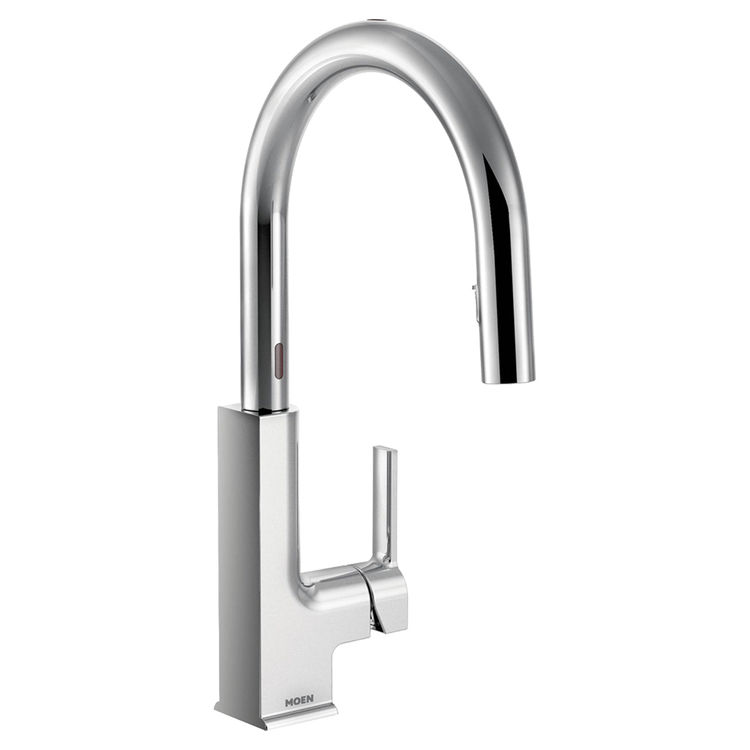 Moen S72308EC Moen S72308EC STo Single-Handle High Arc Pulldown Kitchen Faucet, Chrome