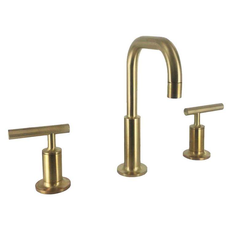 Kohler k 14406 4 bgd brushed gold purist lavatory faucet - Brushed gold bathroom faucets kohler ...