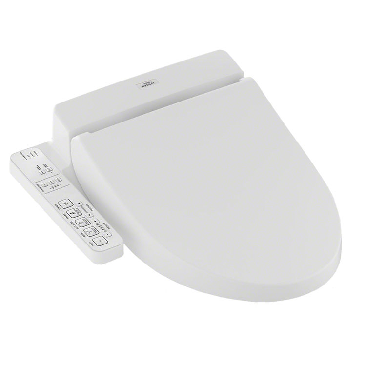 View 2 of Toto SW2034#01 Toto Washlet C100 Cotton White, Elongated - SW2034#01