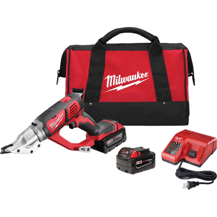 View 2 of Milwaukee 2635-22 Milwaukee 2635-22 M18 18 Gauge Double Cut Shear Kit