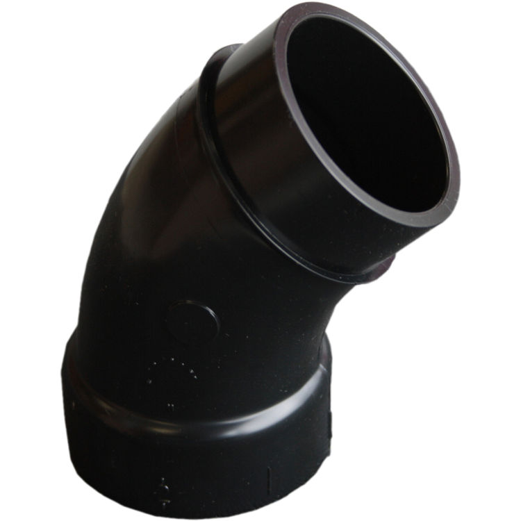 Commodity  2 Inch ABS 45 Degree Steet Elbow, ABS Construction