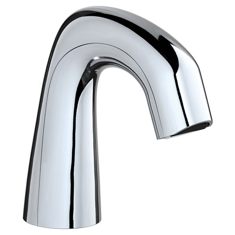 Chicago Faucet EQ-D11A-KJKABCP Chicago Faucets EQ-D11A-KJKABCP EQ Chrome 243.145.AB.1 0.5 GPM (1.9 L/min) Non-Aerating Spray Cache Outlet EQ Curved Electronic Integral Spout Assembly